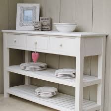 table with drawers and shelves fantastic white sideboard console seconds bliss and bloom ltd