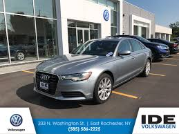 audi dealership rochester ny pre owned 2014 audi a6 2 0t premium plus 4dr car in 333