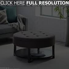 round ottoman coffee table with storage coffee tables decoration ottoman living room table large tray for ottoman coffee table
