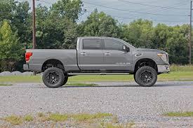 nissan canada titan diesel 6in suspension lift kit for 16 17 4wd nissan titan xd pickups