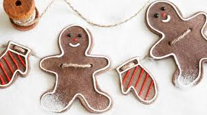 how to gingerbread salt dough ornaments make