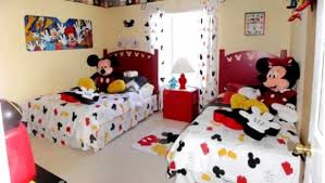 Mickey And Minnie Mouse Bedding Mickey Mouse Bedroom Ideas On Pinterest Mickey Mouse Room