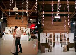 texas barn wedding with country wedding decorations rustic