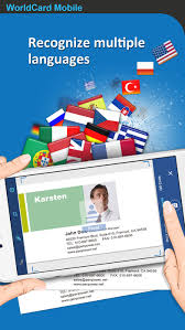 Business Card Reader Scanner Worldcard Mobile Business Card Reader U0026 Scanner On The App Store
