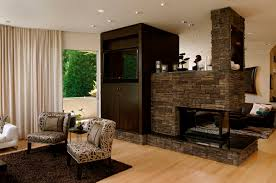 furniture appealing furniture design with modern stone fireplace