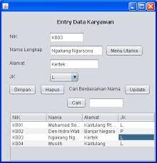 kumpulan tutorial java netbeans contoh sistem penjualan menggunakan java netbeans kumpulan artikel