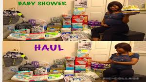 baby shower haul free target registry bag youtube