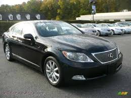obsidian color lexus 2008 lexus ls 460 in obsidian black 053205 autos of asia