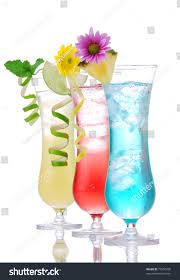 blue raspberry margarita cocktails margarita martini row vodka light stock photo 75550708