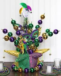 mardi gras diy jester hat centerpiece party ideas u0026 activities