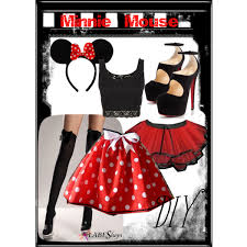 Minnie Mouse Halloween Costume Diy Minnie Mouse Diy Costume Polyvore