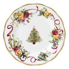christmas plate royal albert country roses christmas plate 20cm royal albert uk