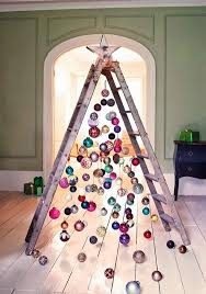 Christmas Decorations To Hang In Window by Ways To Decorate A Christmas Ladder This Holiday