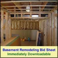 Basement Refinishing Cost by Basement Remodeling Cost Estimates