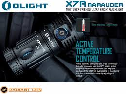 safe light repair cost olight x7r marauder cree xhp70 led rechargeable flashlight incl