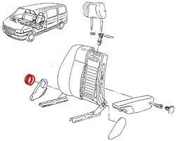 reglage siege auto molette de réglage de dossier de siège avant et strapontin noir t4