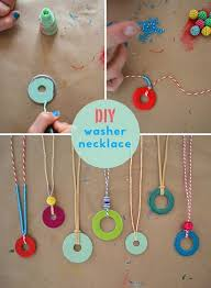 4 Ideas For Jewelry Making - best 25 washer necklace ideas on pinterest washer necklace
