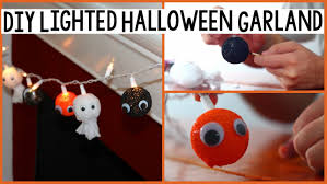 Halloween Garland Diy Halloween Garland Halloween Room Decor Youtube