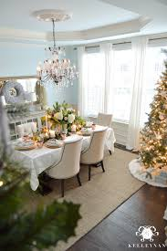 dining table christmas decorations creating a copper christmas table kelley nan