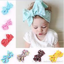 infant headbands infant headbands dot cotton turban headband big bow knot headwrap