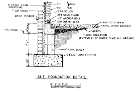 free french country house plans floor foundation cross section
