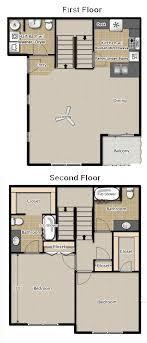2 Bedroom 2 5 Bath Townhouse Apartment Floor Plans Medford Oregon Floor Plans Oregon