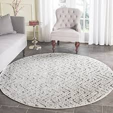 round rugs for living room round rugs 6ft amazon com