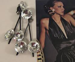 1970s earrings lewis segal california 1970 s rhinestone earrings collectors weekly