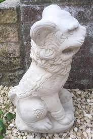 garden ornaments foo dogs in frome somerset gumtree