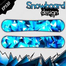 snowboard design snowboard design stock vector feri123 20996583