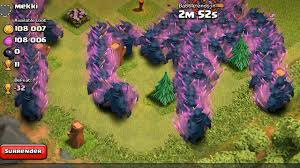 clash of clans pekka raid 300 level 5 mass gameplay youtube
