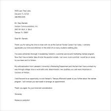 sample thank you letter sample thank you interview email sample