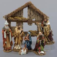 kurt adler 6 resin nativity set of 7 walmart