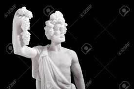 dionysus greek god statue dionysus was the god of the grape harvest winemaking and wine