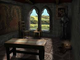 view of the room from the bed amusing gothic bedroom decor ideas
