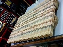 large endgrain countertop cutting board just completed for a