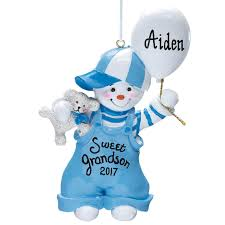 personalized sweet grandson ornament christmas miles kimball