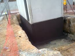waterproof coatings below ground tanking basements foundations