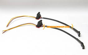 hella oem xenon headlight hid ballast to igniter cable plug wiring
