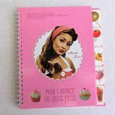 cahier de cuisine à remplir cahier de recettes à remplir à personnaliser idée cadeau