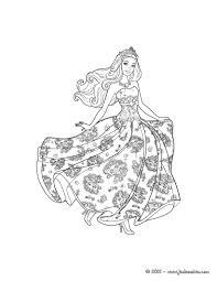 barbie princess popstar coloring pages 03 spa party