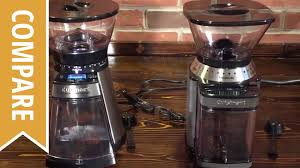 Mr Coffee Burr Mill Grinder Review Compare Cuisinart Coffee Grinders Cbm 18 And Supreme Grind Youtube