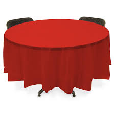 Round Elastic Tablecloth Round Tablecloths Plastic Protipturbo Table Decoration