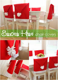 Santa Chair Covers 20 Magical Diy Christmas Home Decorations You U0027ll Want Right Now