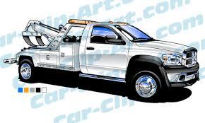 dodge tow truck dodge ram light duty tow truck vector car clip com