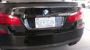 Vanity Plate And The Winner For Best Bmw Vanity Plate Is