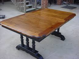 best dining table refinish for interior home design contemporary