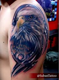 Rebel Flag Eagle Tattoo 52 Eagle Shoulder Tattoos Ideas And Meanings