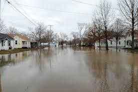 Flooding Missouri Map A Flooded Neighborhood In Missouri Fema Gov