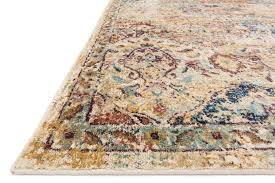 Multicolor Rug Anastasia Collection Ivory Multicolor Rug Top Drawer Furniture